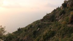 Il percorso lungo il Sant'Elia