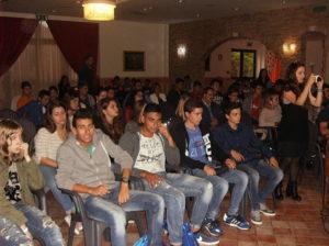 Gli studenti dell'Istituto Agrario di Falerna