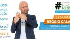 Il Tour #NonCiFermaNessuno con Luca Abete fa tappa a Reggio Calabria