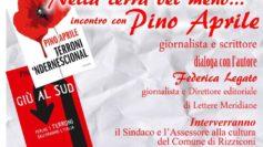 A Rizziconi incontro con il giornalista Pino Aprile