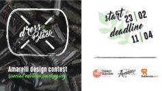 Dress the black, il I° contest design Amarelli