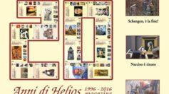 Helios Magazine compie venti anni!
