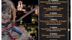 Il Quartetto Di Clarinetti Delirium in concerto al teatro Valente di Corigliano Calabro