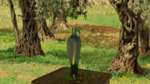 Bottiglia olio Evo