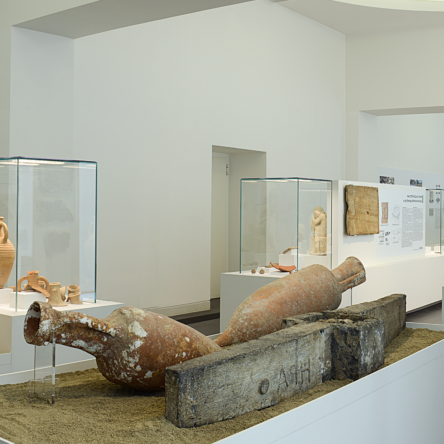 Director Malacrino relaunches former Roof Garden for the finds from Roman times to the Normans