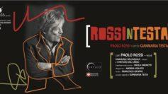"""Al Castello Svevo di Cosenza l'ultimo spettacolo di Paolo Rossi """"RossinTesta"""""""