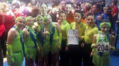 I campioni italiani di danza sportiva under 11 sono di San Basile