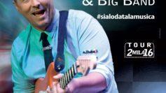 Paolo Belli e la Big band live a Brattirò con il tour #sialodatalamusica