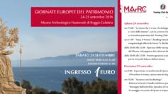 Al MArRC un weekend tra musica e storia dedicato alle Giornate Europee del Patrimonio