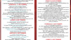 Manifesto celebrazioni mariane a Reggio Calabria
