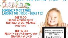 """Domenica """"famiglie al museo"""". La Calabria partecipa alla giornata nazionale con tante attività ludiche per i bambini"""