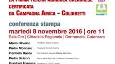 Domani alla Cittadella regionale si presenta la prima filiera agricola certificata di Campagna Amica