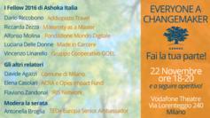 Operare per il cambiamento. GOEL all'evento di Ashoka a Milano