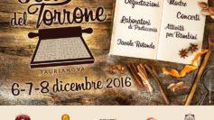 Festival del Torrone di Taurianova: dal 6 all'8 dicembre un evento dedicato a un'eccellenza dolciaria