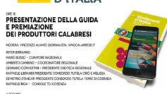 The Calabrian wines awarded by Good Wines of Italy Guide 2017, published by the Italian Touring Club
