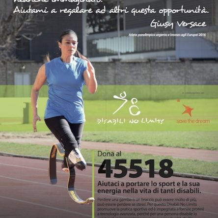 """An SMS that can fulfill a """"dream of sport"""" for children with disabilities"""