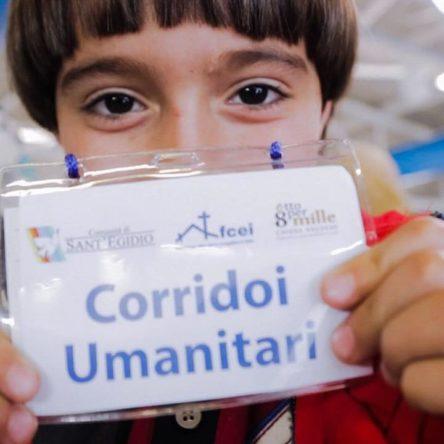 I Corridoi Umanitari arrivano in Calabria