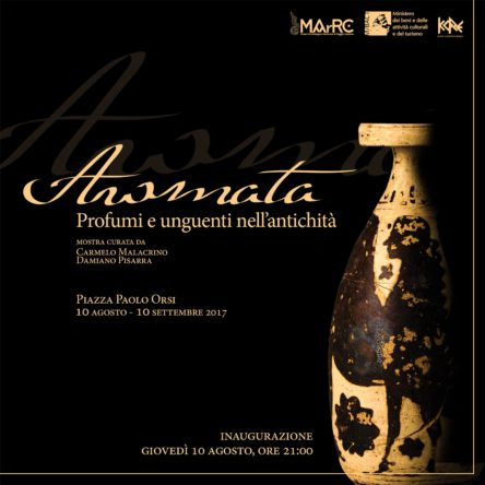 In Piazza Orsi, the exhibition of perfumery in the ancient world at the MaRC