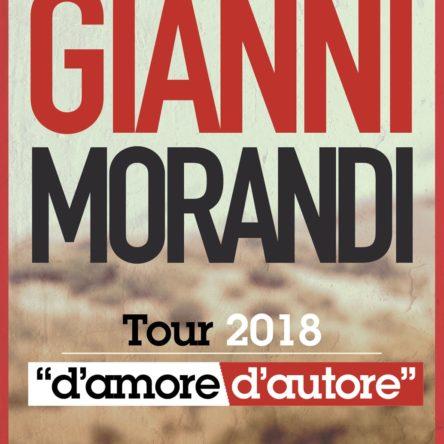 Rese note le prime date del tour 2018 di Gianni Morandi, il 15 marzo sarà a Reggio Calabria