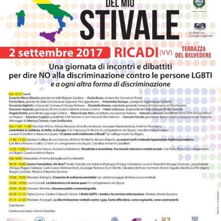 Omofobi del mio Stivale. Una giornata di incontri e dibattiti per dire NO alla discriminazione contro le persone
