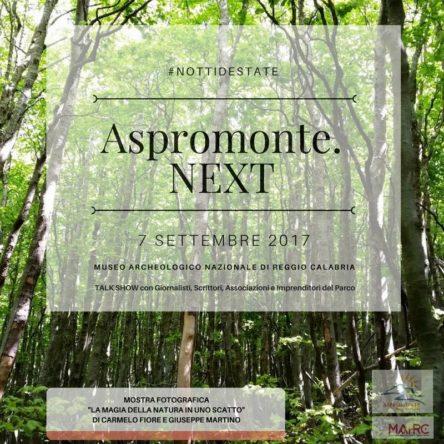 """Domani sera al MARrC, con """"Aspromonte Next"""", voce alle eccellenze del territorio"""