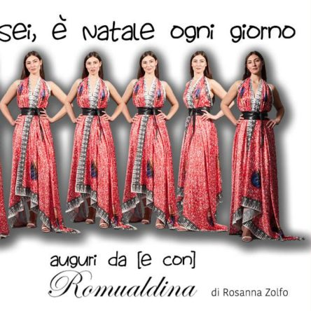 Romualdina's #dressTIPS arrives: designer from Reggio Calabria, Rosanna Zolfo inaugurates web-site for style tips