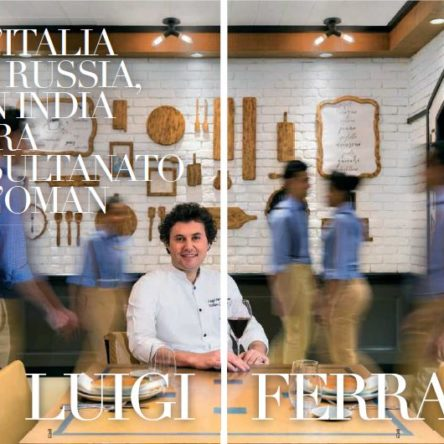 Chef Luigi Ferraro: from Italy to Russia, on to India and now to the Sultanate of Oman