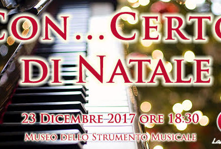 Museum of Musical Instruments in Reggio: Christmas concerts, December 23rd 11:30am and 6:30pm