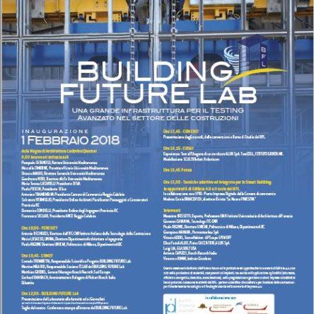Il 1 febbraio l'evento inaugurale del nuovo laboratorio tecnologico dell'Università Mediterranea di Reggio Calabria