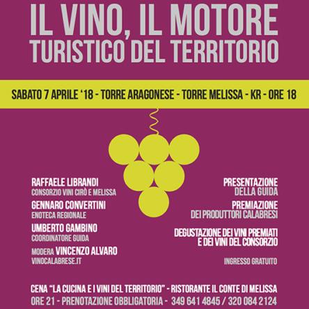 Il vino motore turistico del territorio