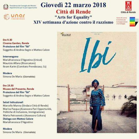 """""""Ibi"""": il film di Andrea Segre e Matteo Calore apre a Rende """"Arts for equality"""""""