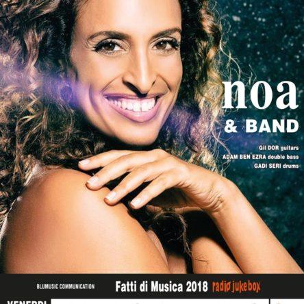 La stella israeliana NOA venerdì sera in concerto al Teatro RENDANO di Cosenza