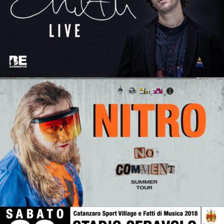 Fervono i preparativi per il doppio concerto di Eman e Nitro  allo stadio Ceravolo di Catanzaro
