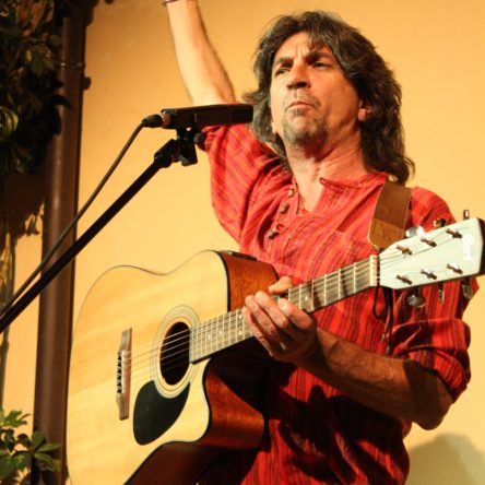 Ad Ecolandia performance d'autore con Nino Racco