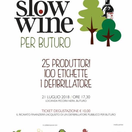 Slow Wine per Buturo. Una grande degustazionein Sila per acquistare un defibrillatore pubblico