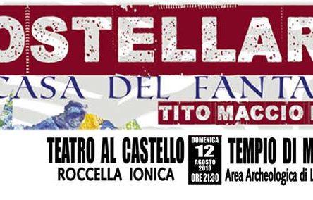 """Il grande classico """"Mostellaria"""" di Plauto in scena domenica 12 agosto a Roccella Ionica e lunedì 13 agosto a Locri"""