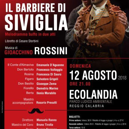 """""""Il barbiere di Siviglia"""" di Rossini a Reggio Calabria"""