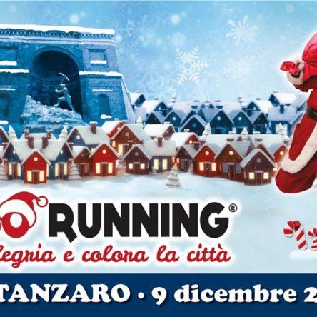 (Ita) I catanzaresi rivivono la magia delle tradizioni e del centro storico. Oggi la Babbo Running!