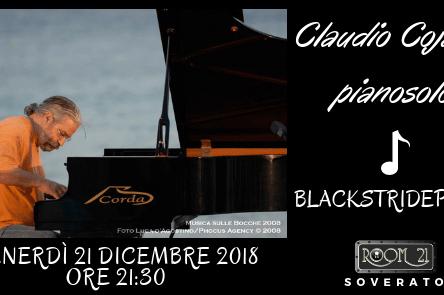 (Ita) Il celebre pianista Jazz Claudio Cojaniz  al Jazz Club Room 21 di Soverato