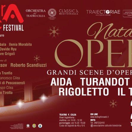 """(Ita) """"Natale all'Opera"""" al Cilea di Reggio Calabria"""