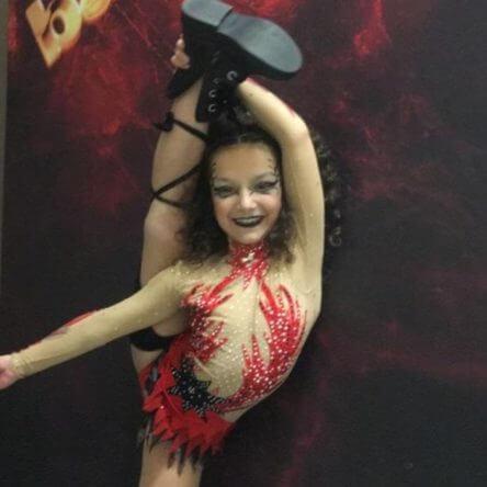 Giorgia Gatto, la rivelazione della danza reggina, si esibirà a Ballando con le Stelle