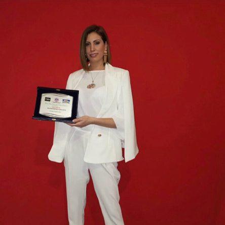 """Premiata Alessandra Giulivo al """"Gran Galà della Cultura Calabrese"""" 2019"""