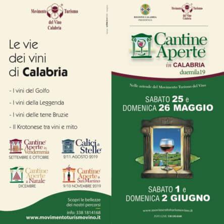 Cantine aperte, il turismo del vino come risorsa per la Calabria