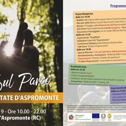 """""""Luci sul Parco"""", l'Aspromonte in festa il 15 giugno a Gambarie"""