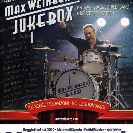 """Si apre con un evento mondiale il """"Reggio Live Fest 2019"""", il 20 luglio Max Weinberg"""