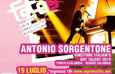 5b315ff6f9 Antonio Sorgentone, il vincitore di Italia's Got Talent il 19 Luglio al  parco Ecolandia – RC