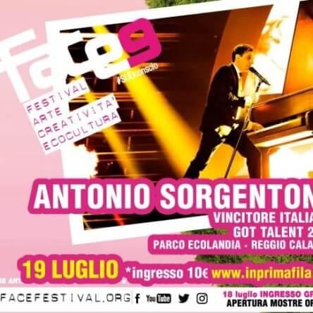 Antonio Sorgentone, il vincitore di Italia's Got Talent il 19 Luglio al parco Ecolandia – RC
