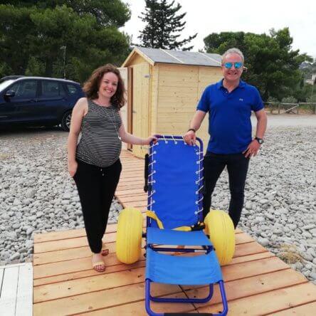 A Trebisacce attiva la spiaggia attrezzata per diversamente abili