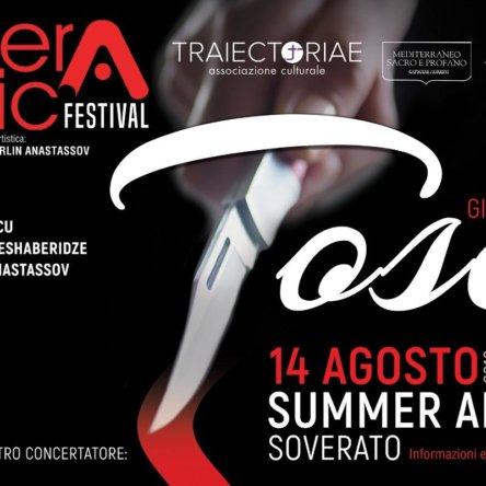 """(Ita) """"Tosca"""" al Summer Arena di Soverato (14 agosto)"""
