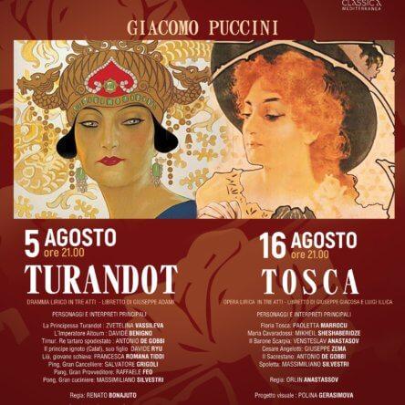 """(Ita) """"Turandot"""" ai Ruderi di Cirella"""